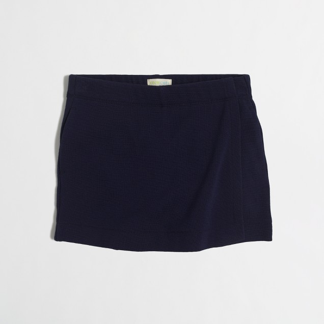 Girls' pull-on skort