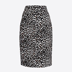Petite pencil skirt in basketweave