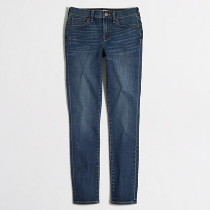 "Medium Miller wash skinny jean with 30"" inseam"