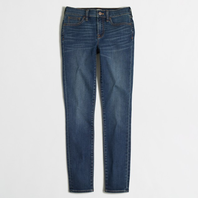 "Medium Miller wash skinny jean with 28"" inseam"