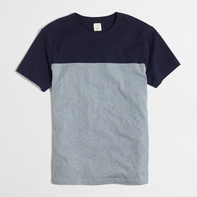 Tall slim football t-SHIRT