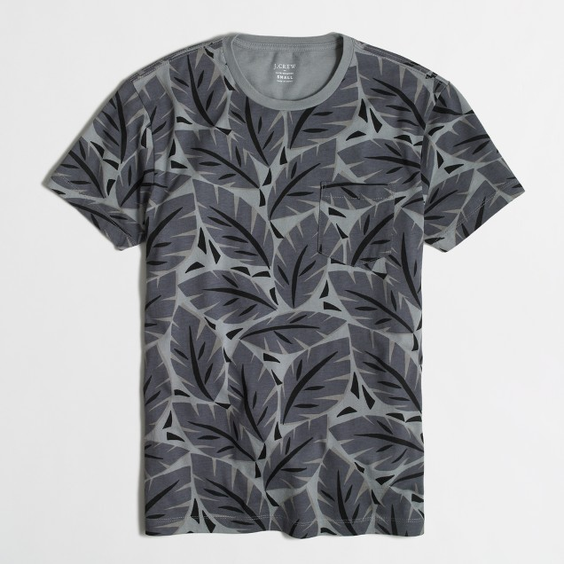 Slim t-SHIRT in palm trees