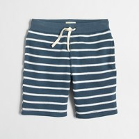 Boys' striped knit pull-on short