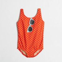 Girls' sunglasses one-piece swimsuit in small dot