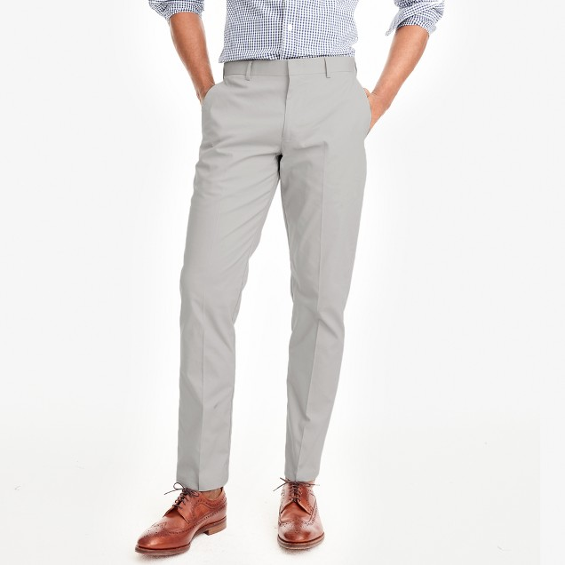 Slim Thompson suit pant in chino
