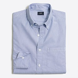 Washed shirt in classic stripe