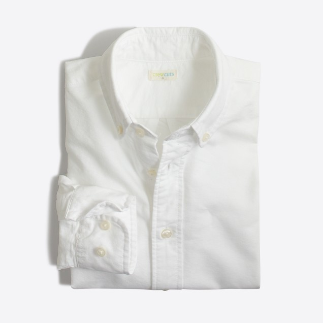 Boys' oxford shirt