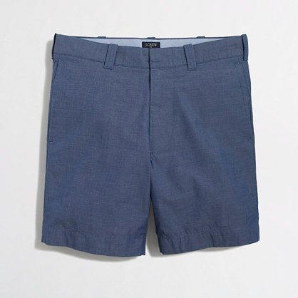 "7"" patterned lightweight Reade short"