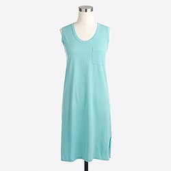 Factory sleeveless pocket dress