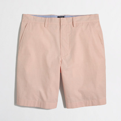 "9"" patterned lightweight Gramercy short"