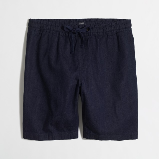 "9"" chambray stadium short"