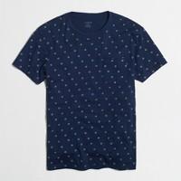 Indigo dot pocket t-SHIRT