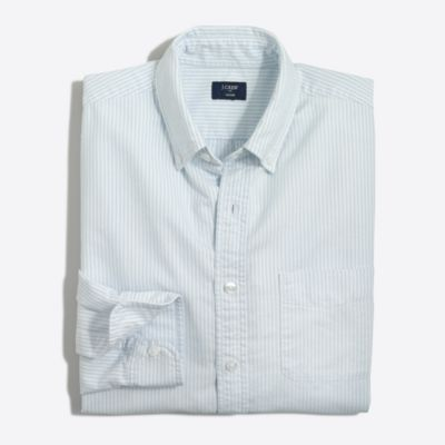 Slim oxford shirt in stripe