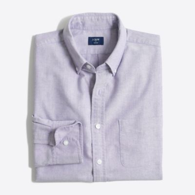 Slim oxford shirt factorymen casual shirts c