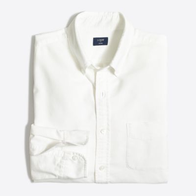 Slim oxford shirt factorymen slim c