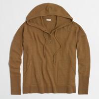 Oversize henley hoodie