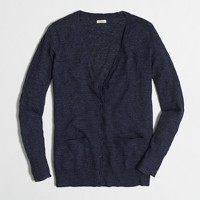 Airspun cardigan sweater