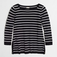 Side-zip sweater