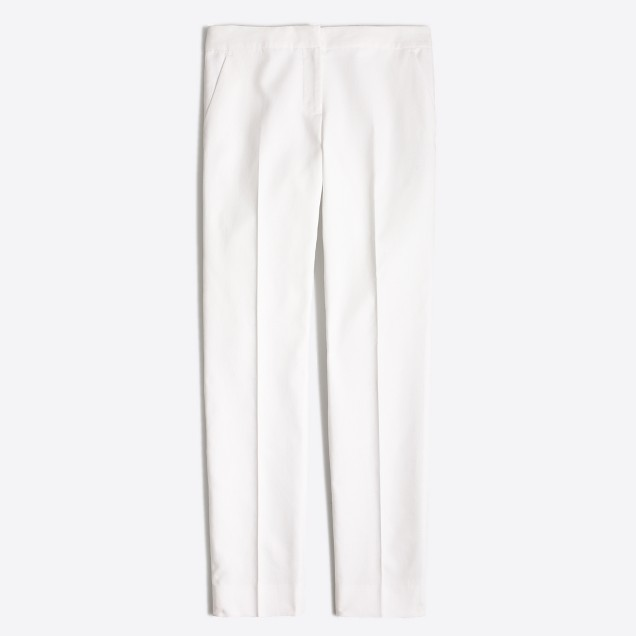 Ankle suiting pant