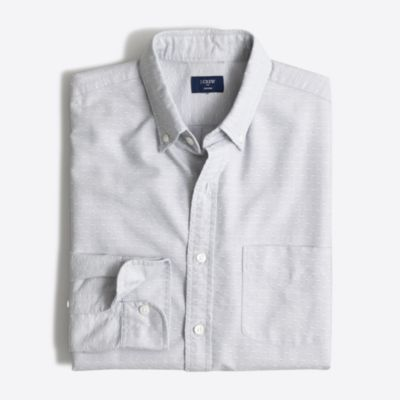 Slim oxford dobby shirt factorymen slim c