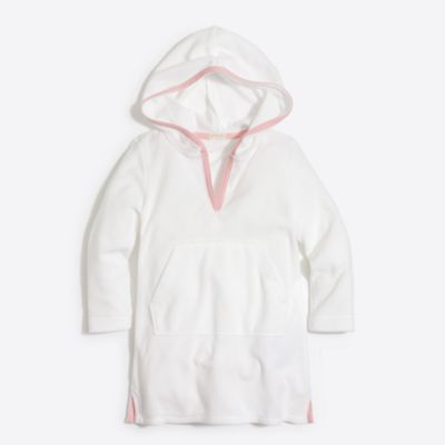 Girls' hooded terry cover-up factorygirls shirts, t-shirts & tops c