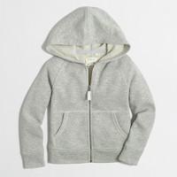 Girls' sparkle hoodie
