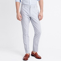 Slim Thompson suit pant in seersucker
