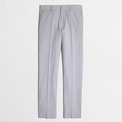 Factory slim Thompson suit pant in seersucker