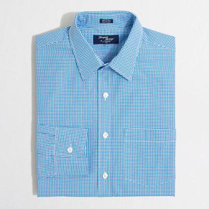 Thompson dress shirt in blue tattersall