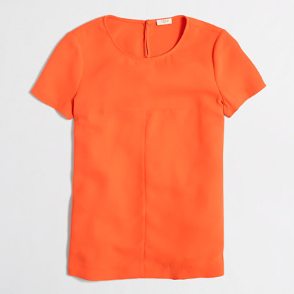 Matte crepe t-shirt