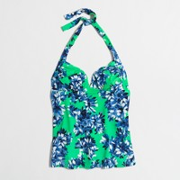 Tankini top in floral