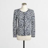 Leopard motorcycle jacket