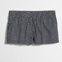 Factory printed sleep short