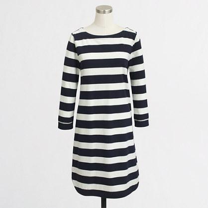 Nautical knit dress