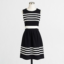 Factory striped daybreak dress