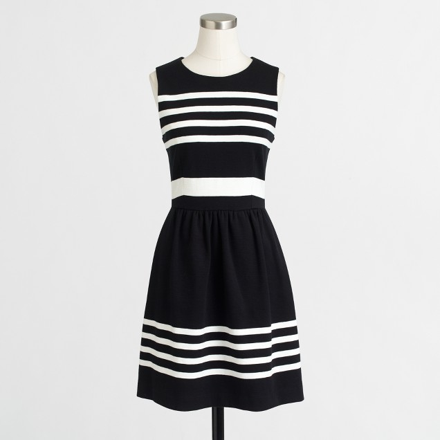 Striped daybreak dress