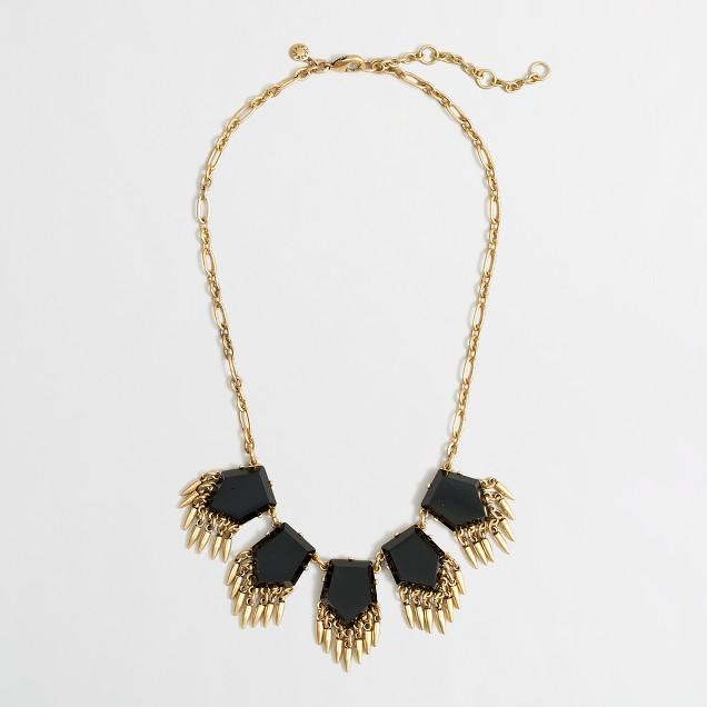 Factory stone arrows necklace