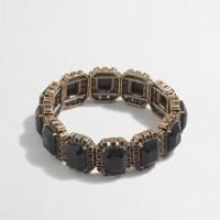 Factory crystal borders bracelet