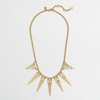 Factory triangles necklace