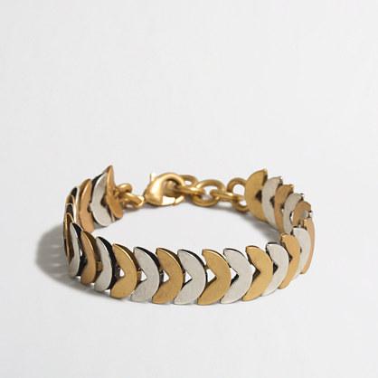 Factory half-circles chain bracelet