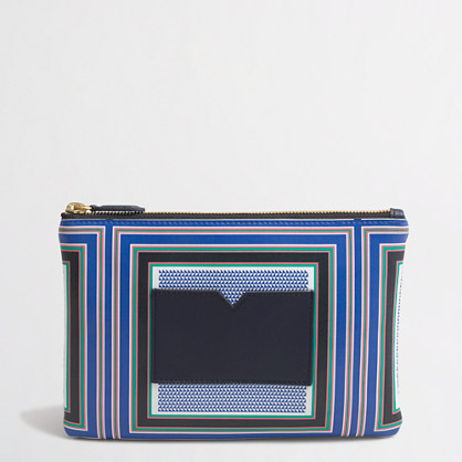 Printed cardholder pouch