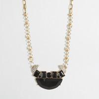 Factory geometric centerpiece necklace
