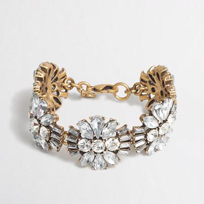 Factory crystals bracelet