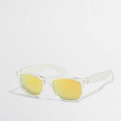 Boys' translucent sunglasses