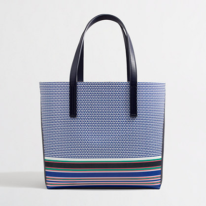 Printed carrier tote