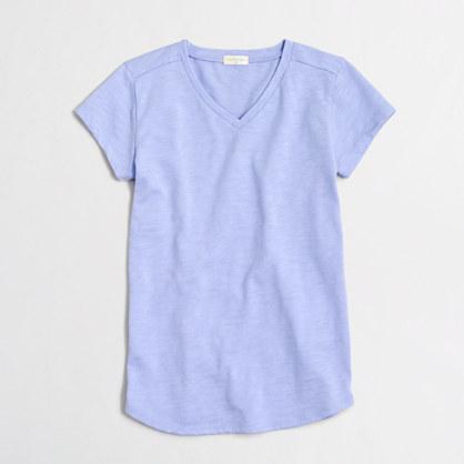 Girls' V-neck T-shirt