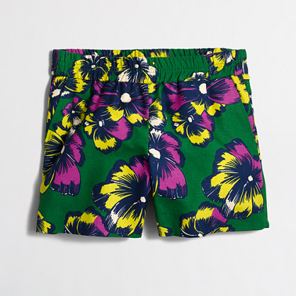 """5"""" printed pull-on short"""