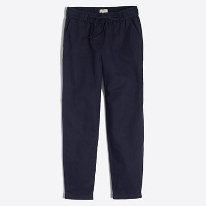 Linen-cotton drawstring pant : Pull-on | J.Crew Factory