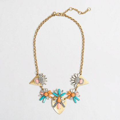 Factory abstract clusters necklace