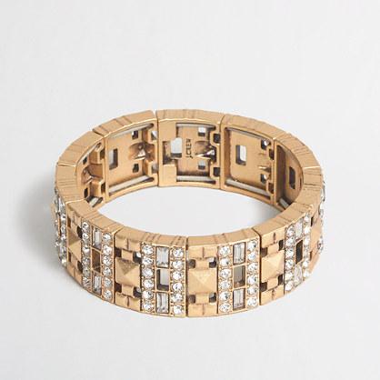 Factory cutouts bracelet